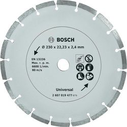 Tarcza diamentowa, segmentowa TS Bosch, 230 mm