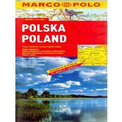 Polska. Mapa samochodowa (opr. broszurowa)