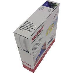 Taśma rzepowa Do przyklejenia element z pętelkami i haczykami (DxS) 10 m x 10 mm Biały Fastech 10 m