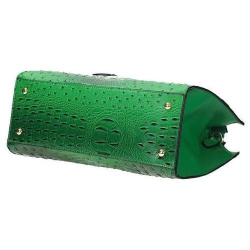 29d3c88e56f82 Zielony wężowy kuferek torebka damska GALLANTRY G7398 - porównaj ...