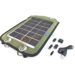 Ładowarka solarna, powerbank SC20 PowerNeed (zielona)