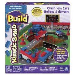 Piasek konstrucyjny Kinetic Sand Build-Samochody-Zderzaki *