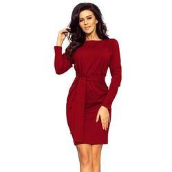 22909b67 suknie sukienki elise ryan bordowa dluga sukienka (od Bordowa ...