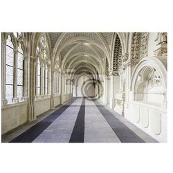 Fototapeta Wnętrze starego gotyckiego klasztoru