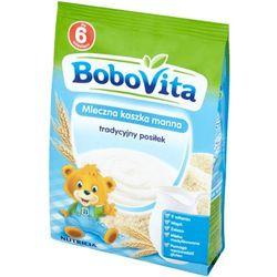 BoboVita Mleczna kaszka manna tradycyjny posiłek po 6 miesiącu 230 g