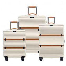 96bf2e0767af3 Komplet walizek PUCCINI zestaw duża + średnia + mała/ kabinowa twarde z  kolekcji OXFORD PC023