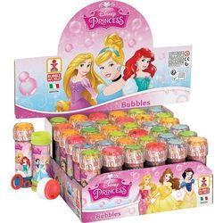 Bańki mydlane Księżniczki Display 36 sztuk