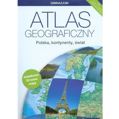 Atlas geograficzny Polska kontynenty świat (opr. miękka)