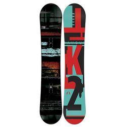 Snowboardy Raygun + Indy Red L (TEST SNB) Czarny/Wielobarwny 156