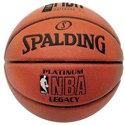 Spalding NBA PLATINUM LEGACY Piłka do koszykówki braun/orange