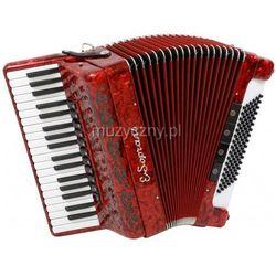 E.Soprani 964 KC 37/4/11 96/4/4 Musette akordeon (czerwony)
