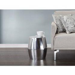 Nowoczesny stolik kawowy - lawa - aluminium - ASWAN
