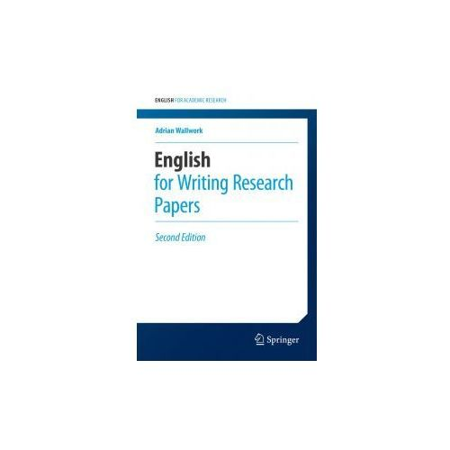 english for writing research papers springer English editing from nature research corrects your language errors expert editors in your subject area all academic text, including research papers.