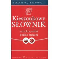 Kieszonkowy słownik turecko polski polsko turecki - Podolak Barbara, Nykiel Pioter (opr. twarda)