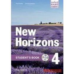 Horizons NEW 4 SB + WB OXFORD - Paul Radley, Daniela Simons, Colin Campbell (opr. broszurowa)