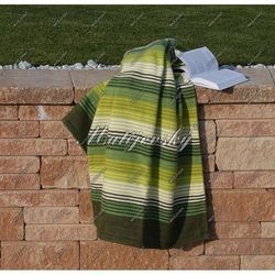 Koc bawełniany Matějovský Summer zielony, 160 x 220 cm