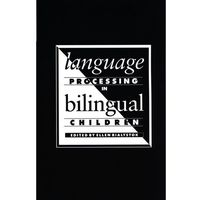 Language Processing in Bilingual Children (opr. miękka)