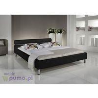 Eleganckie łóżko ANGEL w kolorze czarnym - 160 x 200 cm