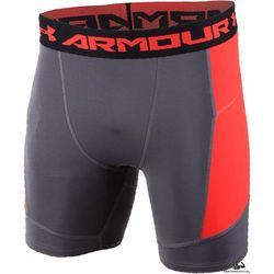 Under Armour HeatGear Armour Media Comp Short Black/Orange