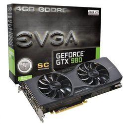 Karta graficzna EVGA GeForce® GTX 980 Superclocked ACX 2.0, 4GB GDDR5 (256 Bit), HDMI, DVI, 3xDP - 04G-P4-2983-KR
