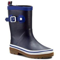 Kalosze TOMMY HILFIGER - Rain Boot 4 FB56817966 D Midnight 403