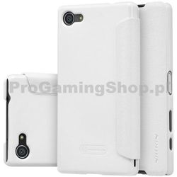 Etui Nillkin Sparkle na Sony Xperia Z5 Compact - E5823, White