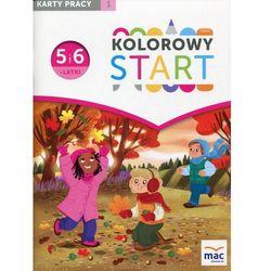 Kolorowy Start 5 i 6-latki Karty pracy Część 1