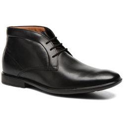 Buty sznurowane Clarks Gosworth Hi Męskie Czarne Dostawa 2 do 3 dni
