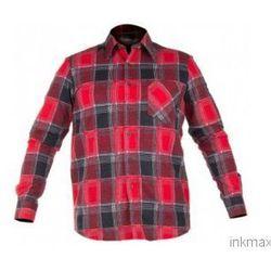 Koszula flanelowa w kratę czerwona LahtiPro