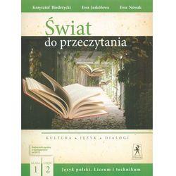 J.Polski LO Świat do przeczytania 1/2 w.2015 + zakładka do książki GRATIS (opr. broszurowa)