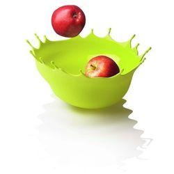 Menu DROPP! Silikonowa Misa na Owoce - Kropla Zielona