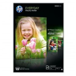 PAPIER FOTO A4 HP 200G GLOSS EVERYDAY Q2510A 100A.