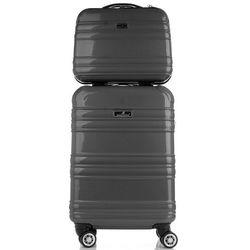 bbc86ee6b9933 ... (torby walizki deichmann torba podrozna venice) we wszystkich  kategoriach. Firmowe Walizki Madisson Zestaw 2w1 Policarbon Czarna (kolory)