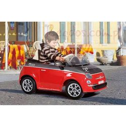 PEG PEREGO Samochód Fiat 500 Red z Pilotem