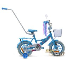 Rower dziecięcy 12 Lilly błękitny - Błękitny