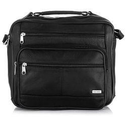 3a0cd1af8b023 listonoszka damska torebka torba plecak 2w1 na ramie nubuck czarny w ...