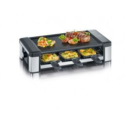 SEVERIN RG 2676 - raclette/grill - brushed stainless steel/black