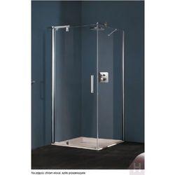 Refresh Huppe 4-kąt ścianka boczna do drzwi skrzydłowych montaż na wannie z drzwiami do wnęki Wykonanie na wymiar – 9P0782087322