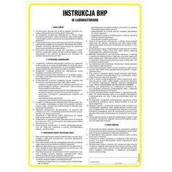 Instrukcja ogólna BHP w laboratorium