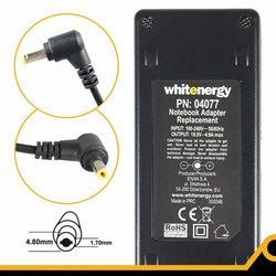 Zasilacz WHITENERGY Zasilacz sieciowy do notebooka HP 90W