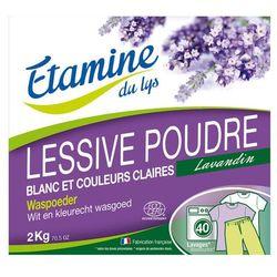 EDL proszek do prania tkanin białych i o trwałych kolorach organiczna lawenda 2 kg EDL harce 15% (-15%)