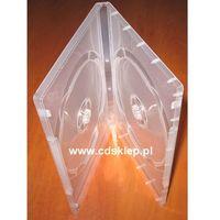 Etui plastikowe na 2DVD 14mm przezroczyste