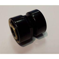 Złączka zaciskowa do rury stalowej GW M22x1,5 x GW 1/2 Schlosser 6027 00002.RAL 9005 Czarna