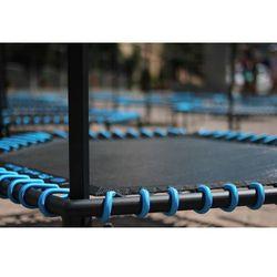 Profesjonalna Trampolina Fitness z uchwytem 126 cm Fit and Jump - czarny