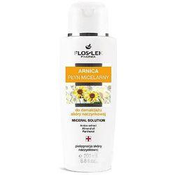 FlosLek Pharma Arnica, płyn micelarny do demakijażu skóry naczynkowej, 200 ml