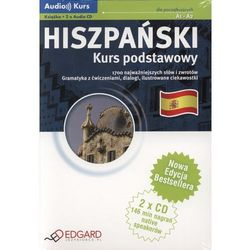 Hiszpański – Kurs Podstawowy. Audio Kurs (Książka + Cd Mp3) (opr. kartonowa)