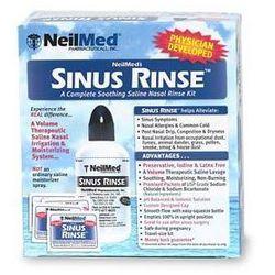 SINUS RINSE Neilmed Zestaw do płukania nosa, zatok dla dorosłych (60 saszetek)