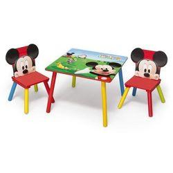 Stolik dziecięcy z krzesełkami Myszka Miki Mickey Mouse II