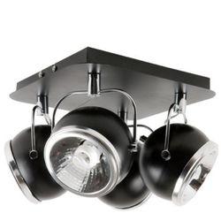 Plafon LAMPA sufitowa BALL 5009404 Spotlight metalowa OPRAWA halogenowa kule ball czarny