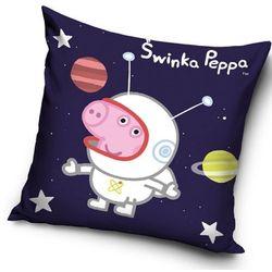 Poduszka - jasiek Peppa Pig – George Kosmonauta, 40 x 40 cm